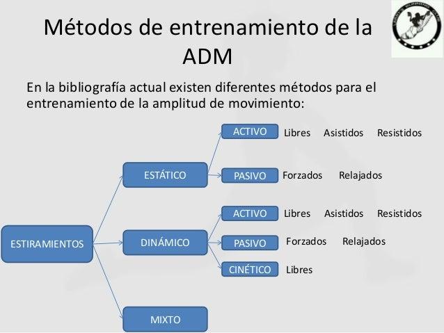 Amplitud De Movimiento (ADM)