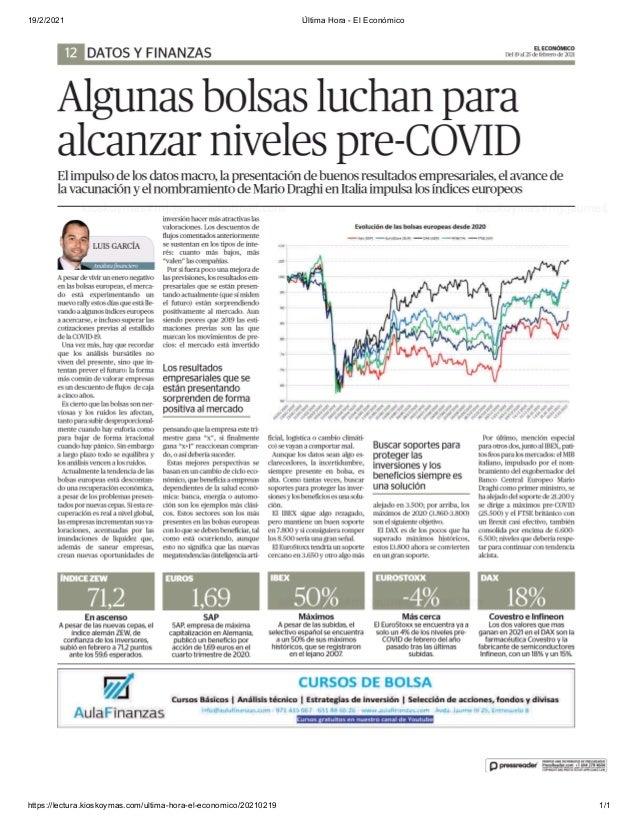 19/2/2021 Última Hora - El Económico https://lectura.kioskoymas.com/ultima-hora-el-economico/20210219 1/1