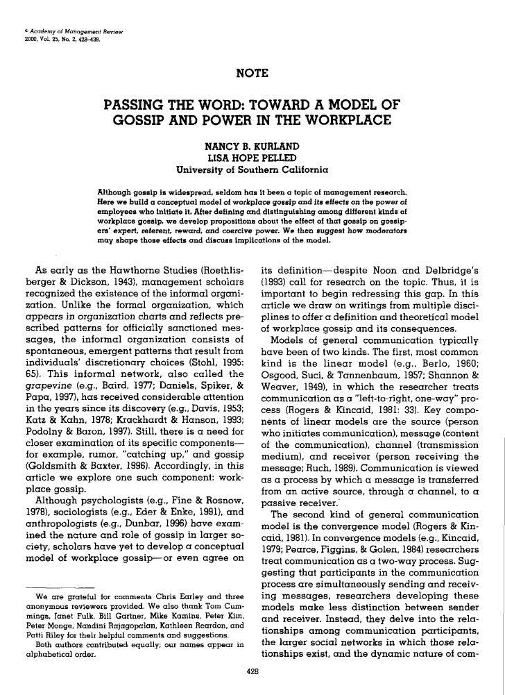 * Acad&my of ManagemeTit Review200D. Vol. 25, No. 2. 428-438.                                                             ...