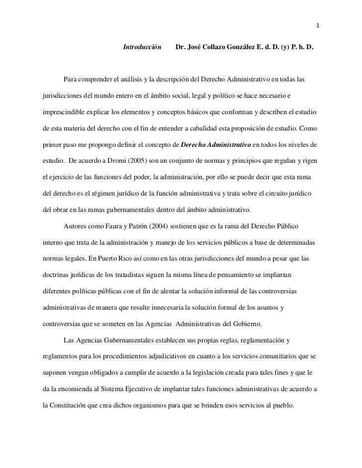1                             Introducción       Dr. José Collazo González E. d. D. (y) P. h. D.       Para comprender el ...