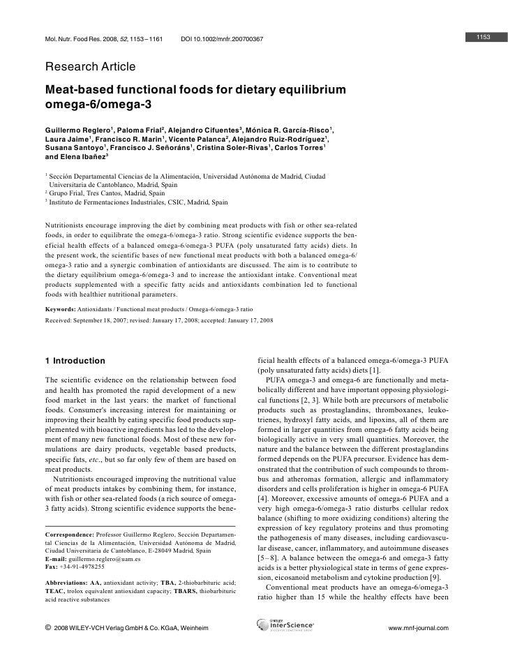 Mol. Nutr. Food Res. 2008, 52, 1153 – 1161       DOI 10.1002/mnfr.200700367                                               ...