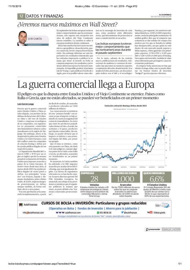11/10/2019 Kiosko y M�s - El Econ�mico - 11 oct. 2019 - Page #12 lector.kioskoymas.com/epaper/viewer.aspx?noredirect=true ...