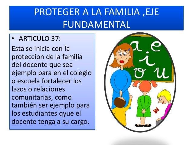 DEBERES DEL PROFESOR COMO DOCENTE:TRATAR A SUS ESTUDIANTES SIN DISCRIMINACIONES • ARTICULO 48 Estar capacitado en lo perso...