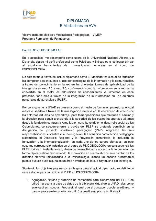 DIPLOMADO E-Mediadores en AVA Vicerrectoría de Medios y Mediaciones Pedagógicas – VIMEP Programa Formación de Formadores. ...