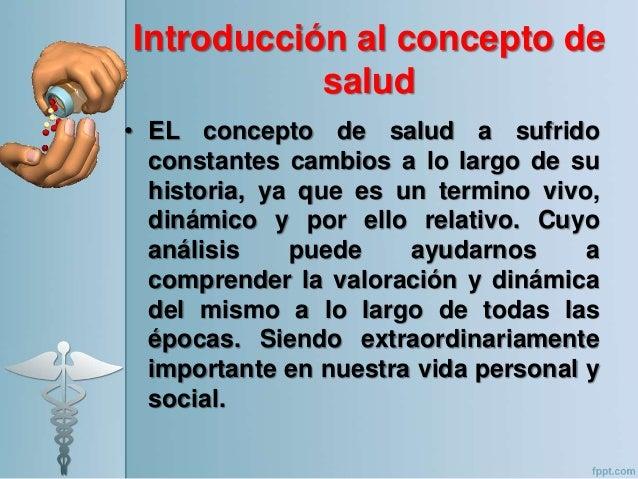 Articulo sobre concepto de salud, definiciã³n y evoluciã³n