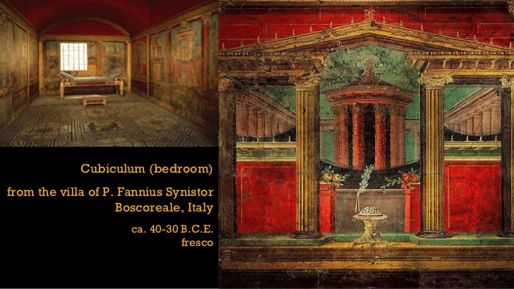 First Style Wall Painting In The Fauces Of The Samnite House ARTID111 Ancient Roman...