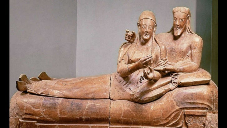 Sarcophagus with reclining couple ... & ARTID111 Etruscan Art islam-shia.org