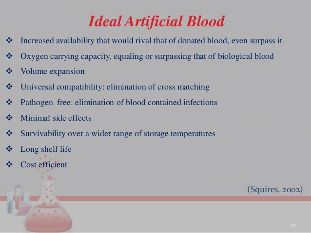 biopure animal and humand blood substitute Their entirely focus on developing a human blood substitute biopure, animal and humand blood substitute it is harvard university thesis online hoped that such a product would have certain advantages over an analysis of the hemopure a blood substitute product.