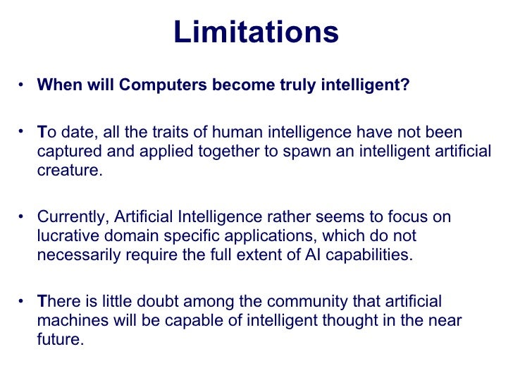 Artificial Intelligence: The Advantages and Disadvantages
