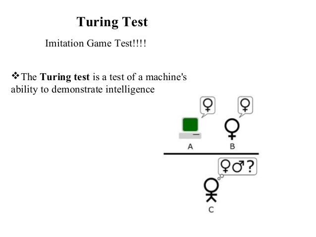 The Turing Test Game Room