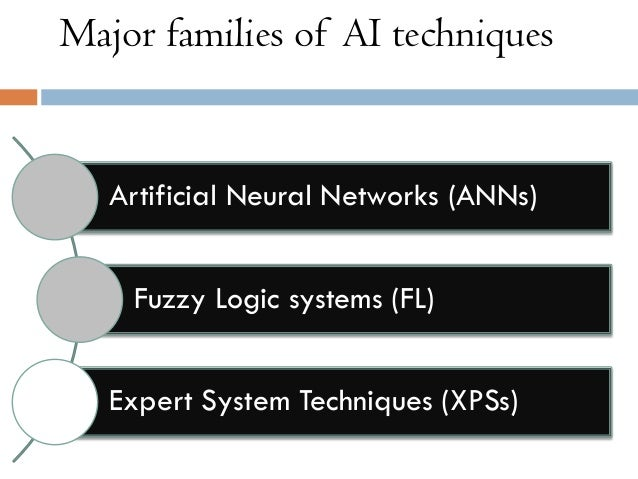 expert systems and its relationship with artificial intelligence Expert systems and artificial intelligence expert systems  the power of an expert system lies in its store of knowledge about the task domain -- the more.