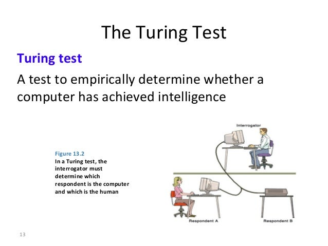 turing test in artificial intelligence