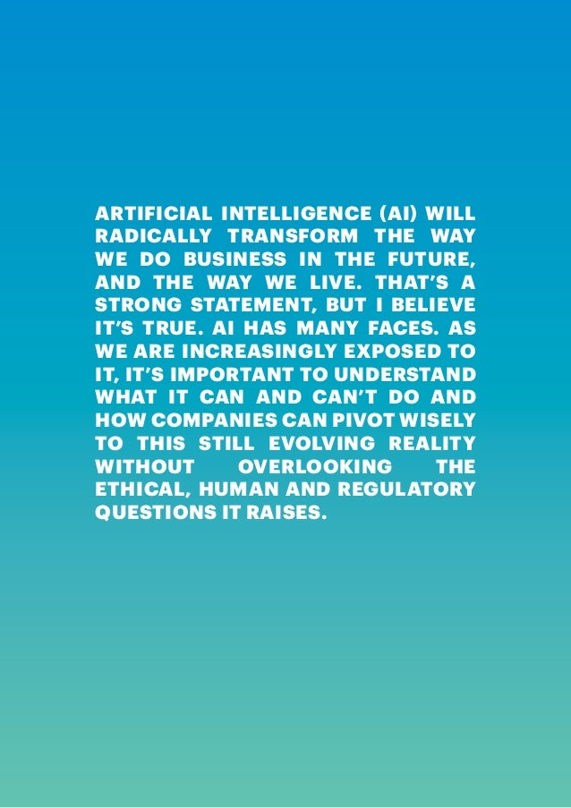 3. 4 | ARTIFICIAL INTELLIGENCE ...