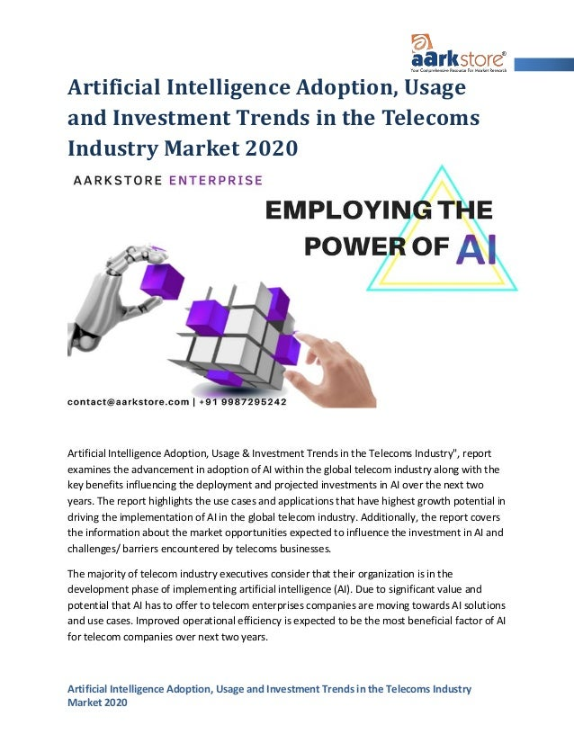 Investment Trends 2020.Artificial Intelligence Adoption Usage And Investment