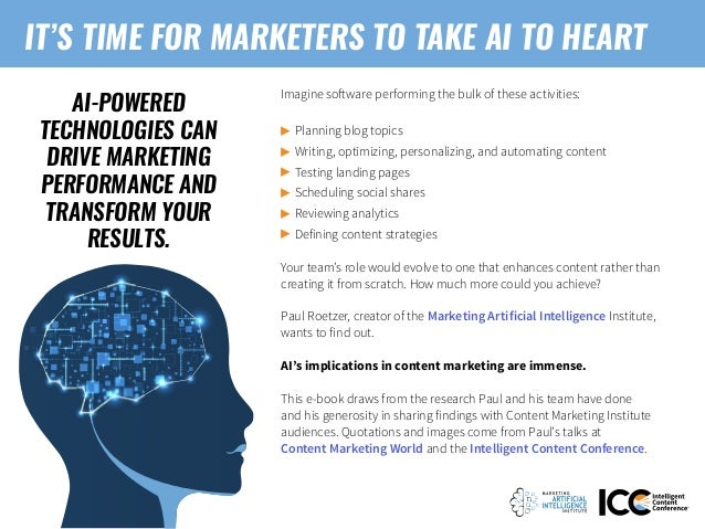 Artificial Intelligence and the Future of Content: A Guide for Marketers Slide 2