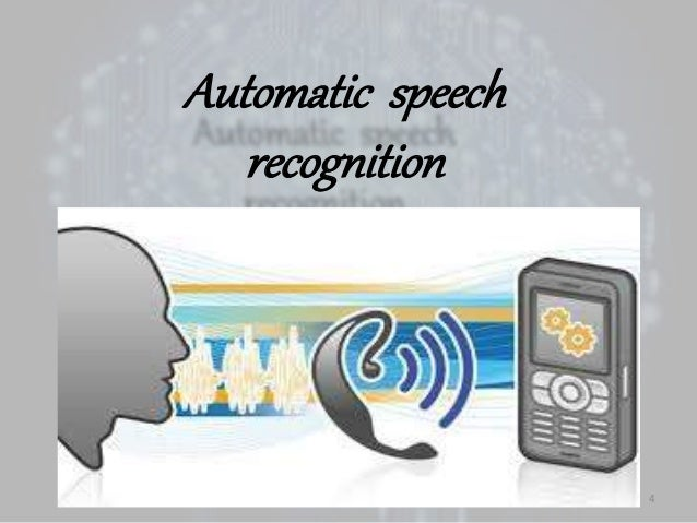artificial intelligence for speech recognition Free essays from bartleby | artificial intelligence for speech recognition the future of human evolution abstract: when you dial the telephone number of a.