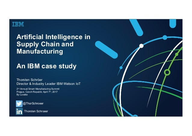 Artificial Intelligence Case Study | Case Study Template