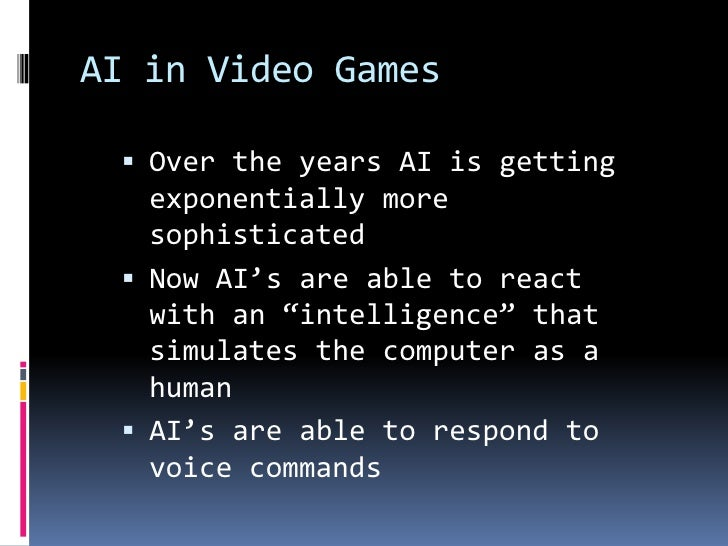 Future of AI<br />The future is really unknown<br />Researchers seem to disagree on a lot of the same issues<br />With the...