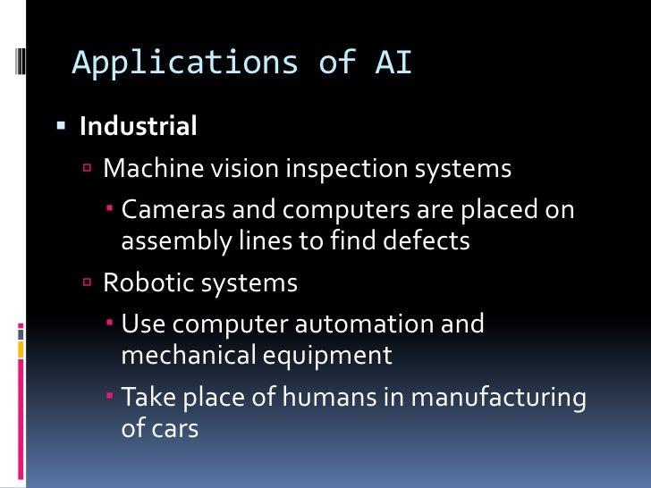 Artificial intelligence presentation 17 applications of aibr toneelgroepblik Images