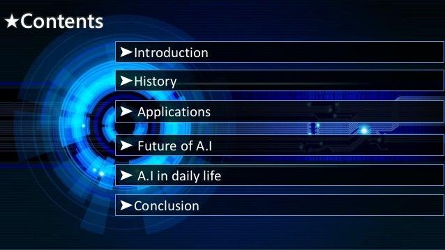 Artificial Intelligence(AI). Slide 2