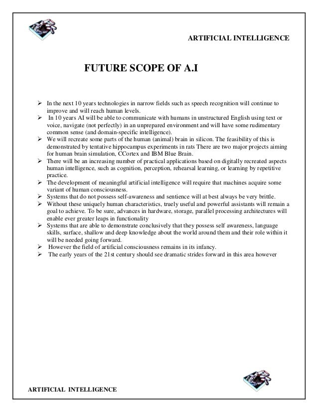"a report on artificial intelligence Artificial intelligence towards a french and european strategy  ia"" report, spearheaded by axelle lemaire the report by."