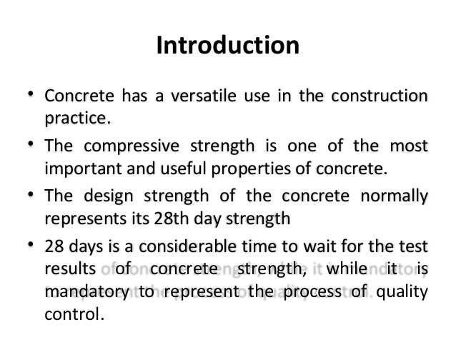 Thesis on concrete mix design