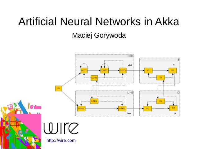 Artificial Neural Networks in Akka Maciej Gorywoda http://wire.com