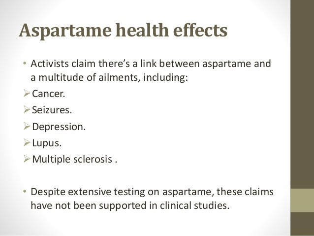 Dangers of Aspartame: What You Need to Know