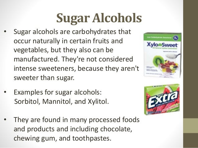 Sugar alcohol: definition, side effects, use in diabetes, ibs.