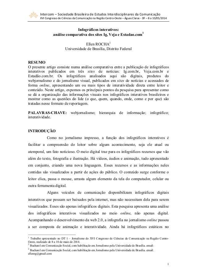 Intercom  –  Sociedade  Brasileira  de  Estudos  Interdisciplinares  da  Comunicação  XVI  Congresso  de  Ciências  da  Co...