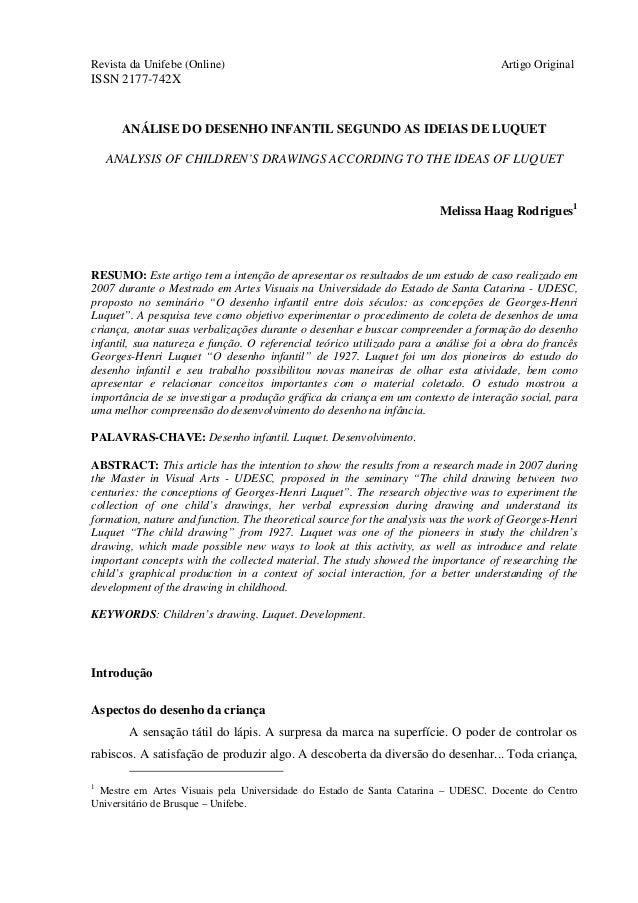 Revista da Unifebe (Online)                                                          Artigo OriginalISSN 2177-742X      AN...