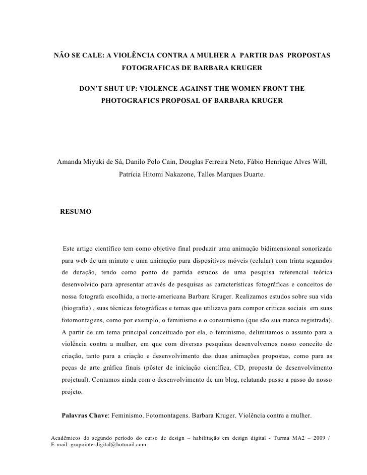 Artigos cientificos de direito