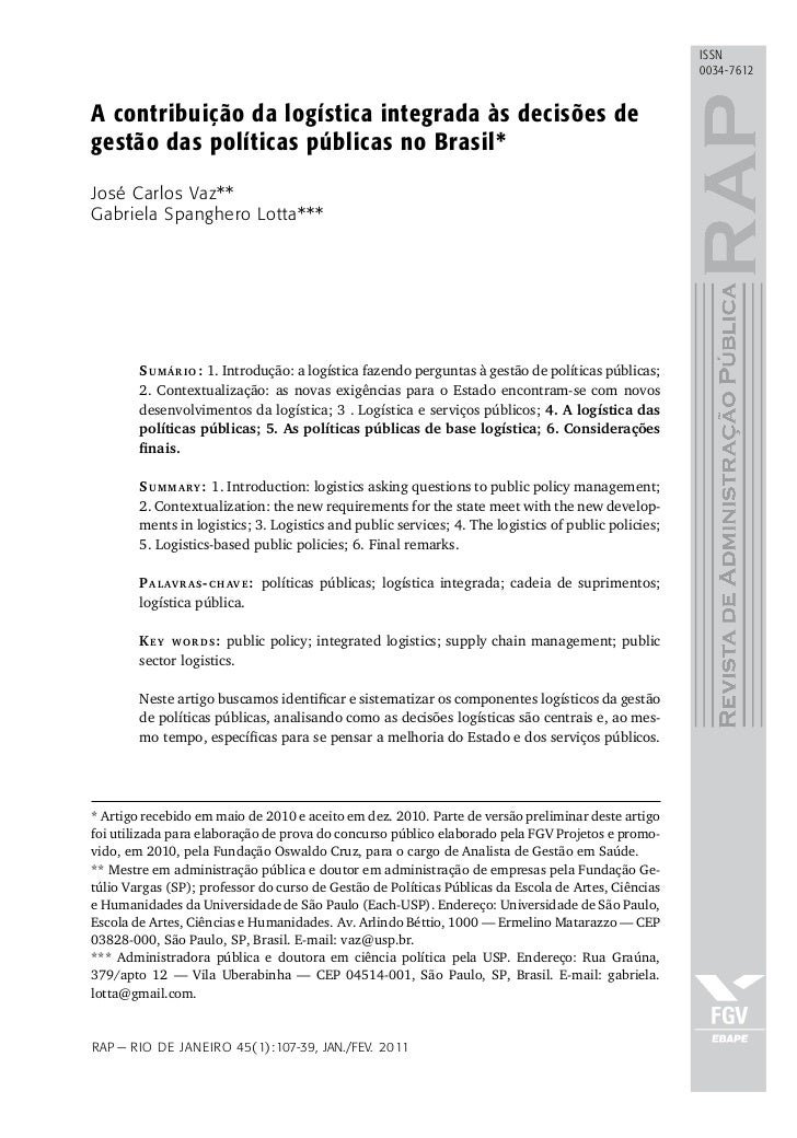 issn                                                                                                       0034-7612A cont...