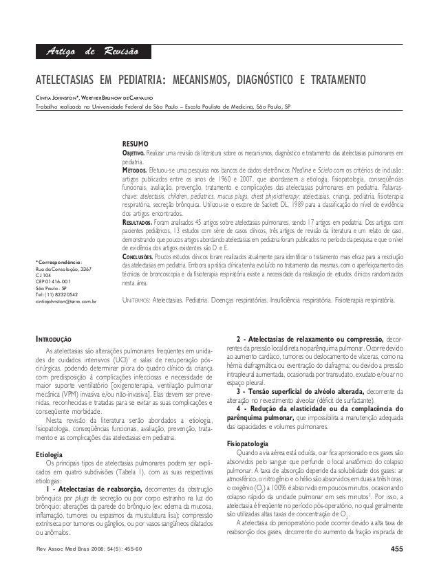Rev Assoc Med Bras 2008; 54(5): 455-60 455RESUMOOBJETIVO. Realizar uma revisão da literatura sobre os mecanismos, diagnóst...