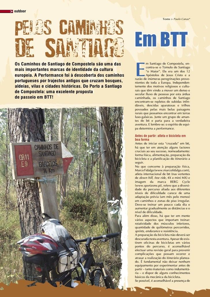 outdoor                                                                                 Texto > Paulo Canas*     Pelos Cam...