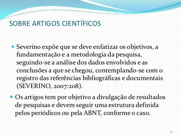 Metodologia artigo cientifico