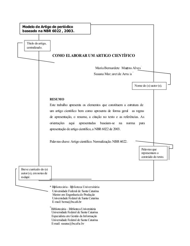 Monografia modelo abnt