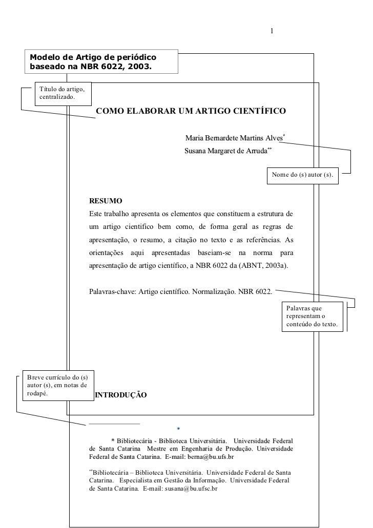 1Modelo de Artigo de periódicobaseado na NBR 6022, 2003.   Título do artigo,   centralizado.                            CO...