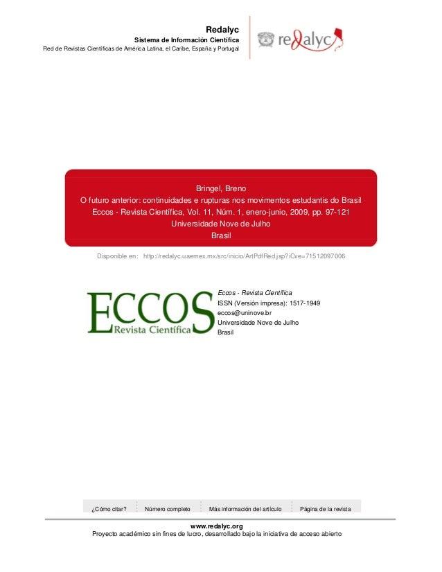 Disponible en: http://redalyc.uaemex.mx/src/inicio/ArtPdfRed.jsp?iCve=71512097006RedalycSistema de Información CientíficaR...