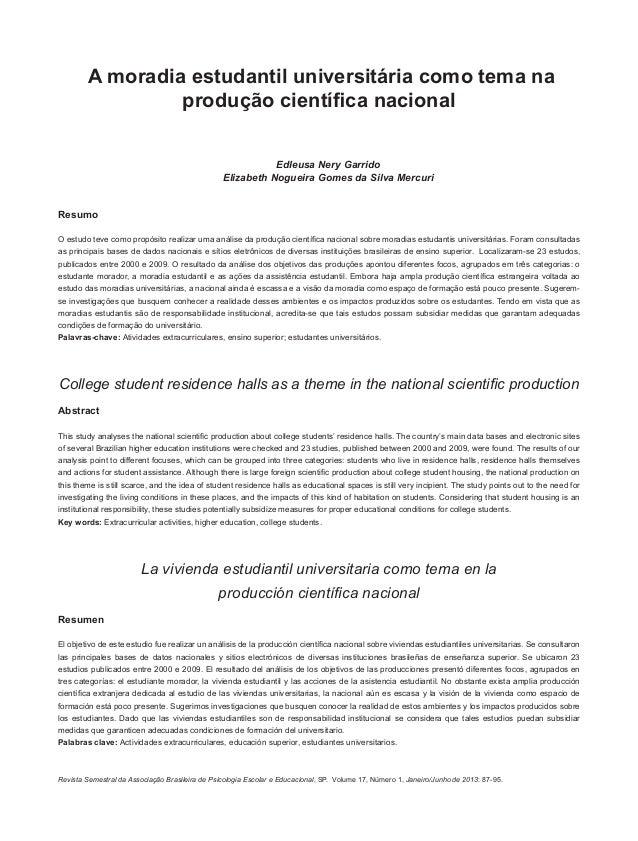87Revista Semestral da Associação Brasileira de Psicologia Escolar e Educacional, SP. Volume 17, Número 1, Janeiro/Junho d...