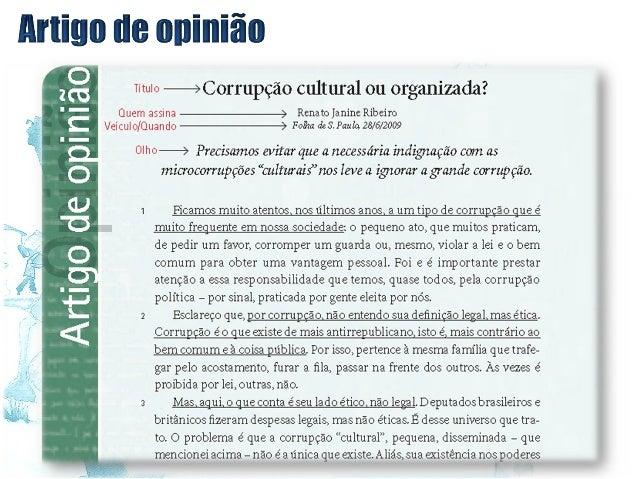 Exemplo de artigo de opiniao