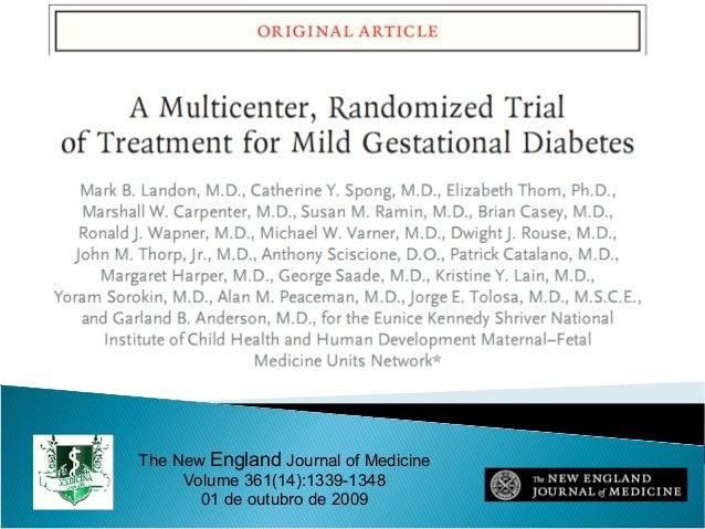 The New England Journal of MedicineVolume 361(14):1339-134801 de outubro de 2009