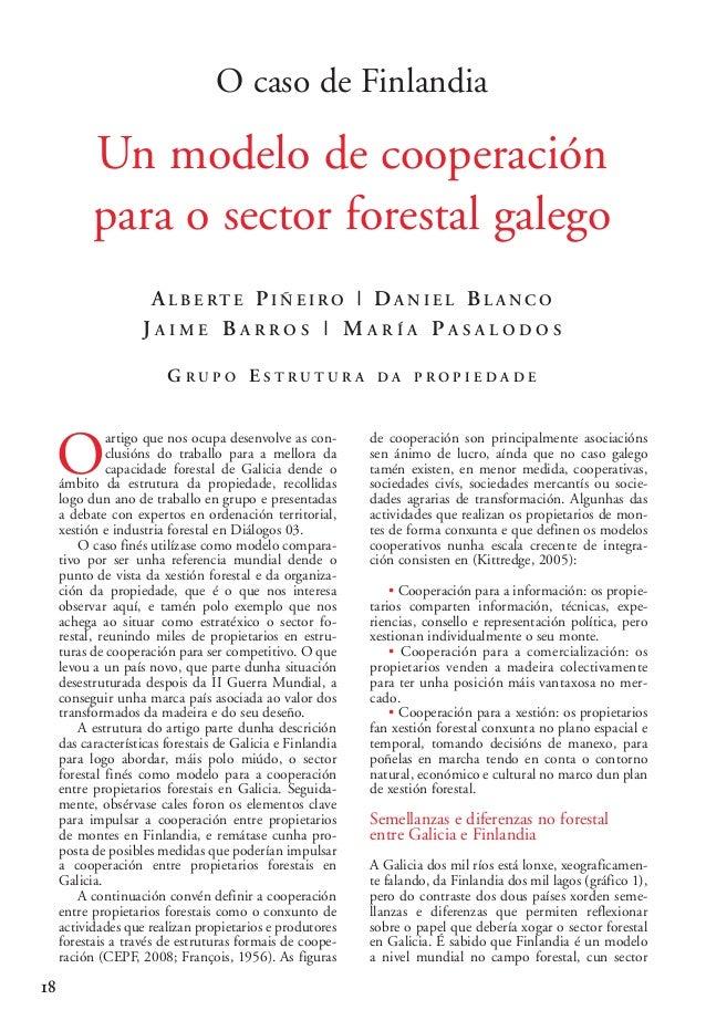 03 2 Alberte Piñeiro_02-2-González-alegre 15/10/13 09:58 Página 18  O caso de Finlandia  Un modelo de cooperación para o s...