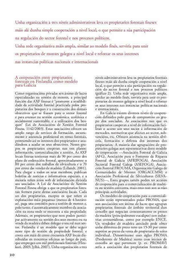 03 2 Alberte Piñeiro_02-2-González-alegre 15/10/13 09:58 Página 20  Unha organización a tres niveis administrativos leva o...