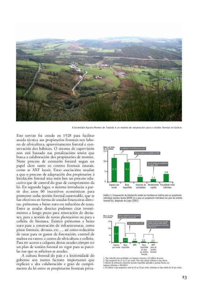 03 2 Alberte Piñeiro_02-2-González-alegre 15/10/13 09:58 Página 23  A Sociedade Agraria Montes de Trabada é un modelo de c...