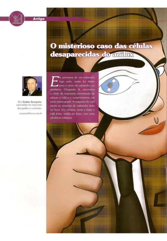 As células desaparecida do Anilox - Artigo Técnico Revista ProjetoPack