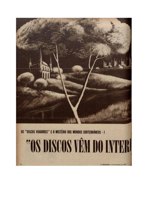 """Artigo - Revista """"O Cruzeiro"""" (1955)"""