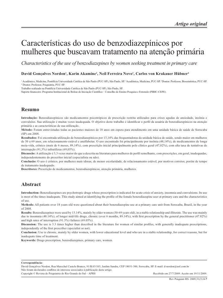 Internato de psiquiatria na Universidade São Francisco – Paulin & Poças                                                   ...