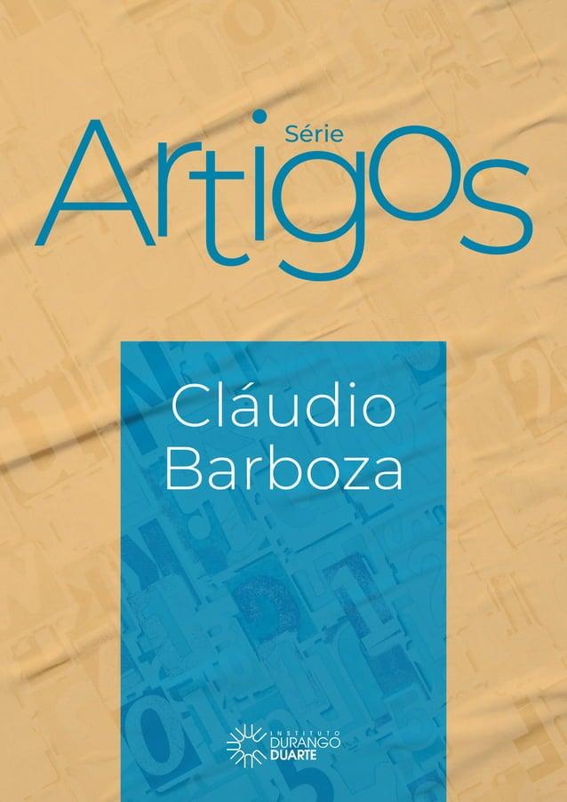Série Cláudio Barboza 1 Série Cláudio Barboza