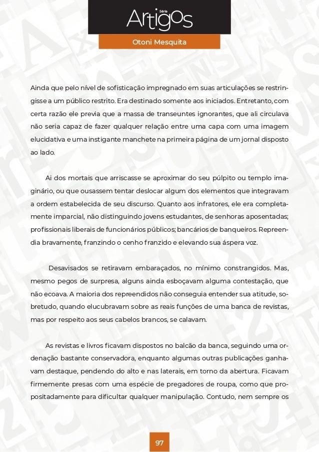 Série Artigos: Otoni Mesquita